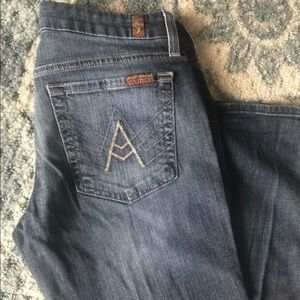 "Seven For All Mankind  ""A pocket"" Jeans"
